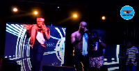 King Promise performed 'Ayekoo' with Medikal at the Promise Land concert