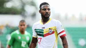 Sessegnon picked up a red card in Benin's last qualifier