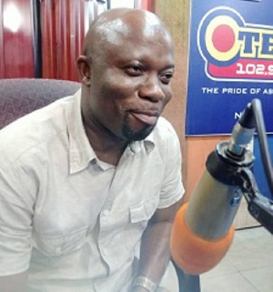 Ahafo Regional Chairperson of the New Patriotic Party (NPP), Kwabena Owusu Sekyere