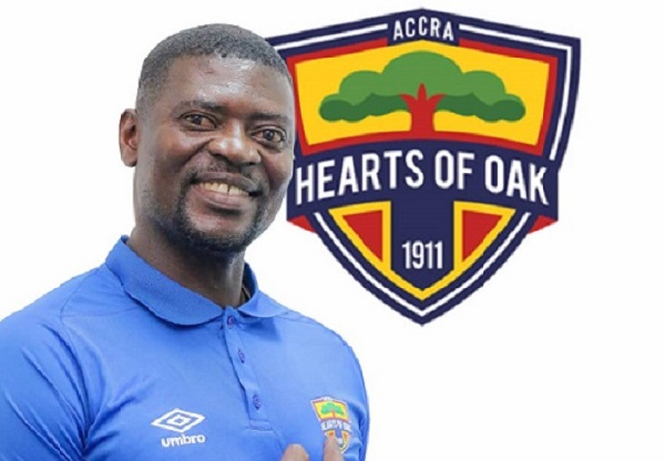 Hearts coach Samuel Boadu focused on improving squad, not on league title