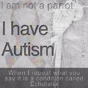 Autism is not contagious as some persons have claimed