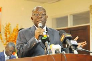 Dr. John Ofori-Tenkorang, Director-General of SSNIT