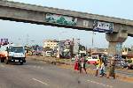The general public is advised to use the footbridges to avoid corporal punishment by the police