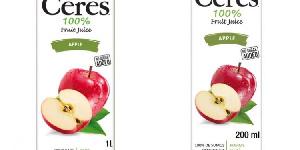 FDA has recalled some batches of Ceres 100% Apple Juice