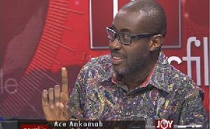 Ace Ankomah, leading member of Occupy Ghana
