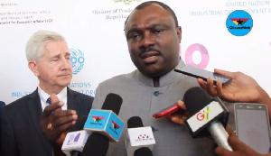 Robert Ahomka-Lindsay, Deputy Minister of Trade and Industry
