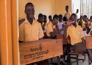 The project was largely championed by the Project Services Director of the Rotary Club of Accra