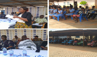A social audit engagement was organised at Kwahu Asakraka by the NCCE