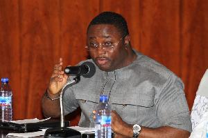 Elvis Afriyie Ankrah, Director of Elections, NDC