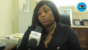 Kate Addo, Public Affairs Director of Parliament