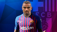 Kevin has joined Barca on a loan deal