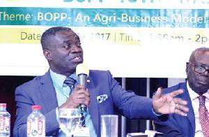 Deputy Agric Minister William Quaitoo