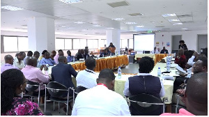 Stakeholders at the Customs' engagement meeting