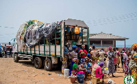 Some head potters who were smuggled out of Accra
