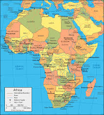Africa Map New