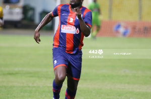 Gyan made his debut for Legon Cities