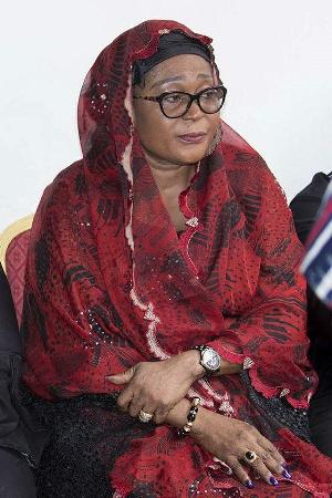 Lordina Mahama Mourns Sad