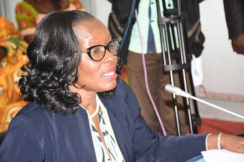 Attorney General and Minister of Justice Gloria Akuffo