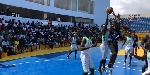 Some action from the Basketball Festival