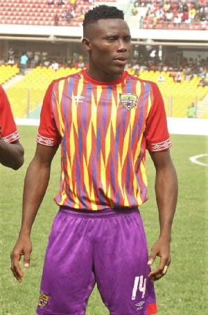 Hearts of Oak defender, Robert Addo Sowah