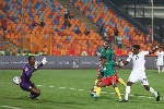 Habib Mohammed pulled an equaliser for Ghana