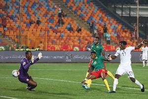 Habib Mohammed pulled an equaliser for Ghana