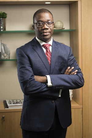 Julian Opuni, Managing Director, Fidelity Bank Ghana Limited