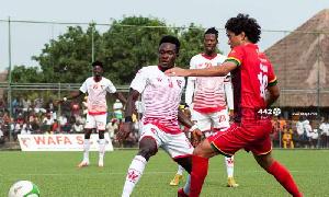 Asante Kotoko draws 1-1 with WAFA