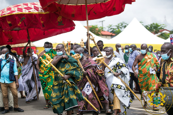 File photo: The said meeting was virtually hosted by by Omanhene of New Juaben Traditional Council
