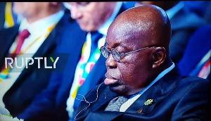 Akufo Addo Sleeping Sleo