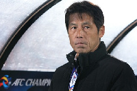 Japan coach Akira Nishino