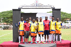 Team Promasidor Ghana Limited won the competition