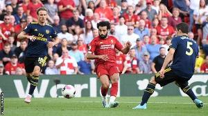 Salah scored a stunner against Leeds United