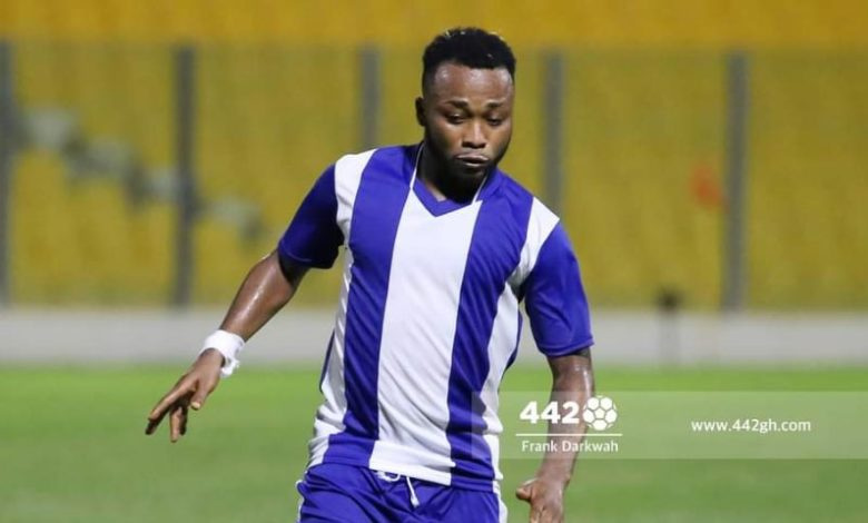 Gladson Awako asks Hearts to compensate Olympics - Report