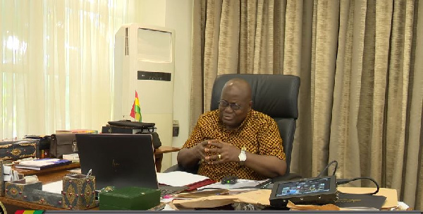 Akufo-Addo's zoom meeting with campaign communications advisory team