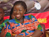 Mrs Elizabeth Ofosu-Adjare,the Minister of Tourism, Culture and Creative Arts