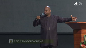 Founder and Head Pastor of the Calvary Charismatic Centre (CCC), Reverend Ransford Obeng