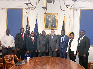The Ambassador was on a 3-day visit to Pittsburgh to participate in the 2019 annual town hall & gala