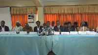 Seth Twum Akwoaboah addressing association's grievances