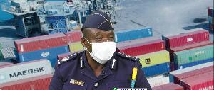 Fechin Akoto, Chief Revenue Officer of the Customs Technical Services Bureau