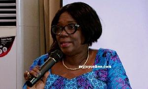Afua Gyamfua Owusu-Akyaw is President of Association of Ghana Industries (AGI)