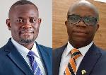 John Ampontuah Kumah and Dr. Stephen Amoah