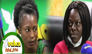 Florence Mankoh and Ruth Andoh were in Lebanon