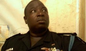Commander of the SWAT Unit of National Security, DSP Samuel Azugu