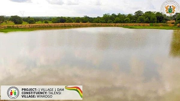 Accessing water during the dry season  was a problem faced in almost all villages across the North