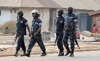 Security has been tightened in Akatsi
