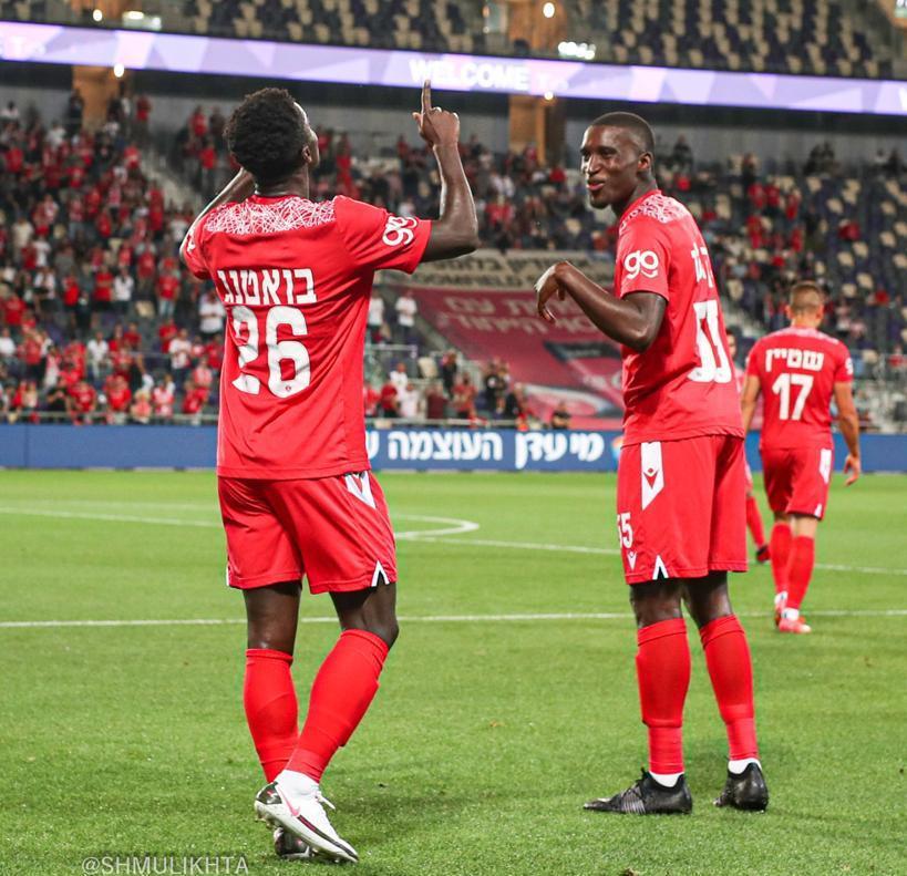 Midfielder Emmanuel Boateng scores opener as Hapoel Tel Aviv draw