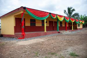 The newly built educational facility