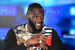 Former WBC Heavyweight champion, Deontay Wilder