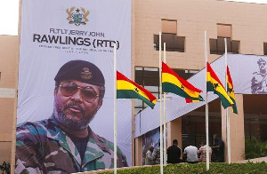 The final funeral rites is being held at the Accra International Conference Centre